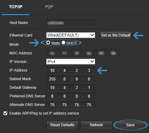 How To Setup Port Forwarding – Amcrest