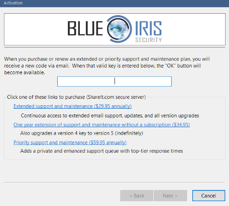 How to Renew a Key in Blue Iris 5 – Amcrest