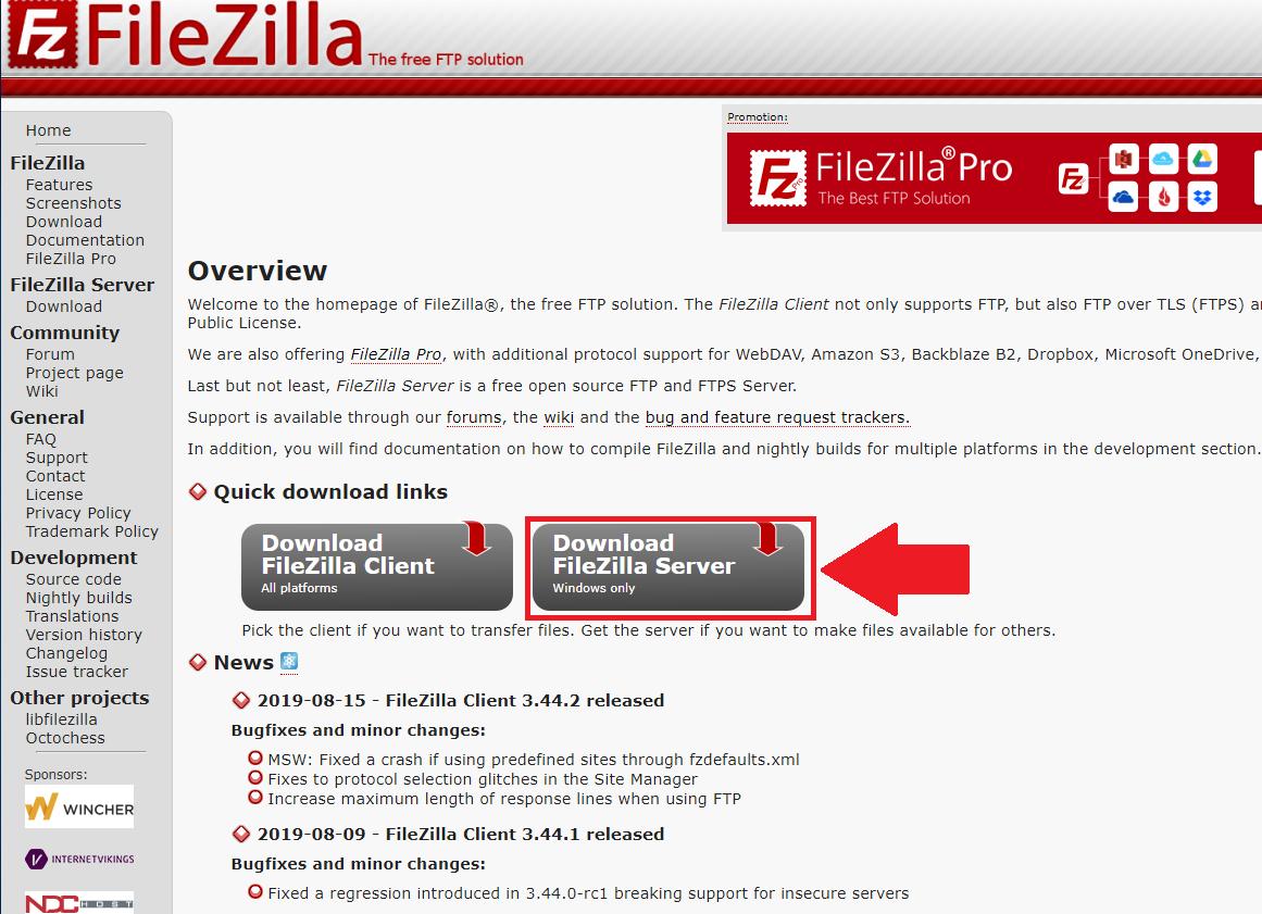 How To Setup FTP Using FileZilla – Amcrest